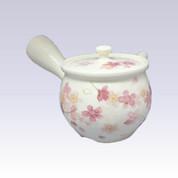 Tokoname Kyusu teapot - AKIRA - SAKURA - 480cc/ml - Stainless steel net