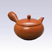 Tokoname Shudei Kyusu teapot - AKIRA - 360cc/ml - Obal ami stainless steel net