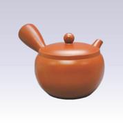 Tokoname Shudei Kyusu teapot - AKIRA - 460cc/ml - Obal ami stainless steel net