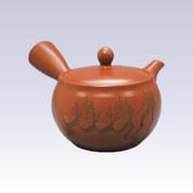 Tokoname Kyusu teapot - AKIRA - Pine - 330cc/ml - Obal ami stainless steel net