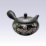 Tokoname Kyusu teapot - AKIRA - SAKURA - 360cc/ml - Obal ami stainless steel net