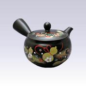 Tokoname Kyusu teapot - AKIRA - Six Gourd - 330cc/ml - Obal ami stainless steel net