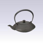 Nanbu Tetsubin - Onmyo Black - 0.75 Liter : Japanese cast iron teapot