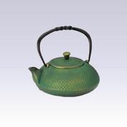 Nanbu Tetsubin - Matcha Pearl - 0.4 Liter : Japanese cast iron teapot