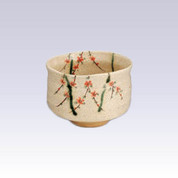Mino-yaki - Matcha bowl - SAKURA with box