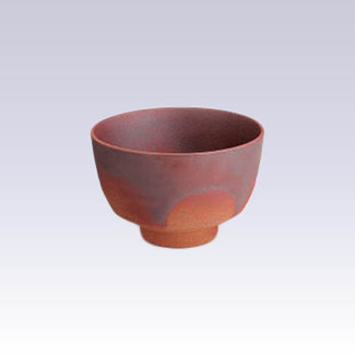 Arita-yaki - Matcha bowl - Scarlet with box