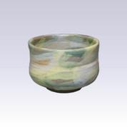 Tokoname-yaki - Matcha bowl - SEIKOU - GREEN HAKE