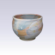 Tokoname-yaki - Matcha bowl - SEIKOU - BLUE HAKE