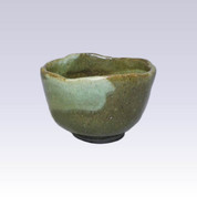 Tokoname-yaki - Matcha bowl - SEIKOU - GREEN GLAZE