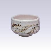 Mino-yaki - Matcha bowl - PINK SHINO