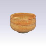 Mino-yaki - Matcha bowl - RED SHINO