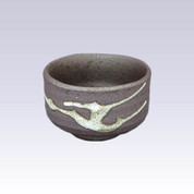 Tokoname-yaki - Mini matcha bowl - Namban
