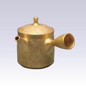 [Heritage grade] Tokoname Kyusu teapot - SHORYU - The Golden Zipangu - 210cc/ml - Ceramic fine mesh with wooden box