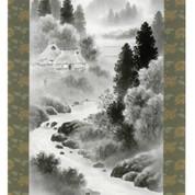 Mini Kakejiku - landscape - Japanese small hanging scroll