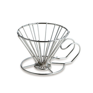 One dripper for 1 cup - stainless wire coffee dripper