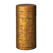 Gold1- Hikarikouji washi paper tea can caddy