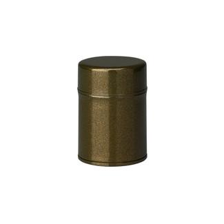 S/Green - Azuma-nuri steel tea caddy can
