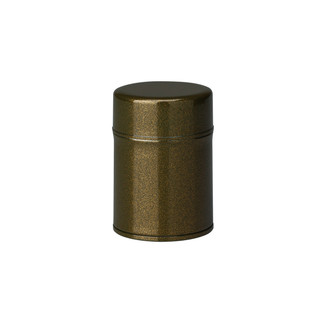 S/Green - Azuma-nuri steel tea caddy can