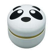 Suzuko-Panda steel tea caddy can