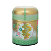 Green - Heian era steel tea caddy can