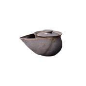 Houhin teapot - Pelican 350cc/ml - ceramic mesh - Kyoto Kiyomizu-yaki w box