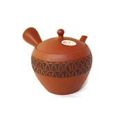 Premium - HAKUSUI 340cc/ml - ceramic mesh - Japanese kyusu teapot
