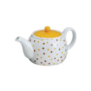 Hasami-yaki kyusu teapot - Candy - 580cc/ml - Kago-ami stainless steel net