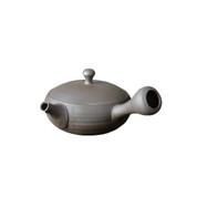 Tokoname-yaki - TOMOHIRO SAWADA - 170cc/ml - Flat kyusu teapot - Ceramic fine mesh