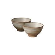 Shigaraki-yaki - YUEI - 2 Chawan teacups
