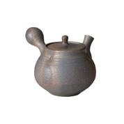 Shigaraki-yaki - IBUSHI - 500cc/ml - kyusu teapot - Ceramic mesh w box