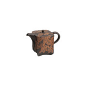 Tokoname-yaki Kyusu teapot - SHUN-EN MANO - 280cc/ml - ceramic mesh with wooden box