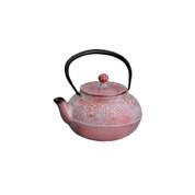 Tetsubin cast iron teapot - SAKURA & WHITE PLUM 400cc/ml with Kago-ami stainless steel net