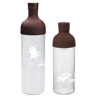 Filter in Bottle for Cold Brew Tea - Cat design - 2 size - original