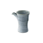 Hake Gray - Iced sake server - 2 color - Mino ware