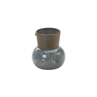 Karatsu - Iced round sake hot server - Mino ware