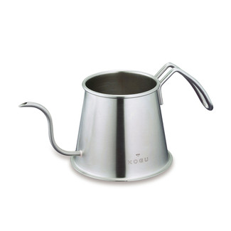 KOGU - Super extra fine spout - Two drip coffee pot stainless 500ml/cc - silver