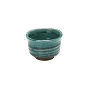 Turkey Blue - Guinomi sake cup 85 ml/cc - Mino ware