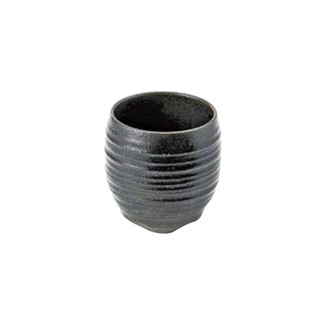 Black - Big sake rock glass 410ml/cc - Mino ware