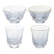 Sakazuki sake cup 4 type - sake glass ware