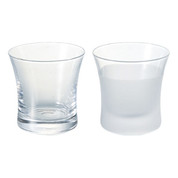 Iced sake cup 110ml/cc - 2 type - sake glass ware