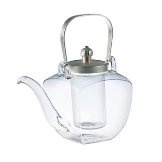 Silver - Iced sake pot server - Chirori - sake glass ware