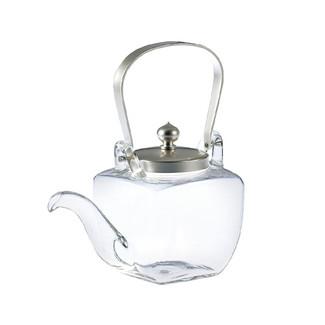 Iced sake pot server - Chirori - Mini Silver - sake glass ware