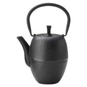 Nanbu cast iron teapot - TSUTSUGATA HAKEME - 450 ml/cc - 2 color