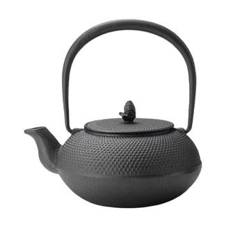 Nanbu tetsubin cast iron teapot - ARARE - 1000 ml/cc - direct fire OK