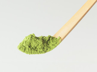 Chashaku : Matcha Tea Scoop (white bamboo) for Matcha