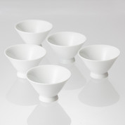 Tea Professional's Tea Cups : Yunomi (5 cups) for Japanese green tea leaves