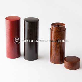 Urushi Chazutsu Smart 3 color - Japan Lacquareware Tea Caddy Canister