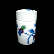 Imari Porcelain Tea Canister [Persimmon]