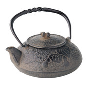 Nanbu Tetsubin - Hisago (Gourd design) 0.4 Liter : Japanese Cast Iron Tea Pot