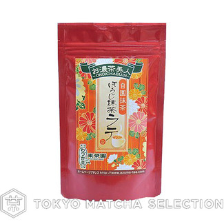 [Decaffeinated/No Artificial Coloring & Preservative] Kyoto Houji (Roasted) Matcha Latte Mix 120g (4.23oz)